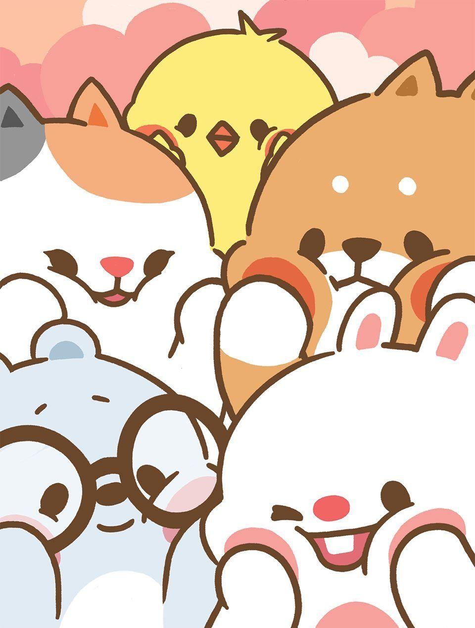 Pin By Lisa Jo On Tonton Cute Cartoon Wallpapers Kawaii Wallpaper Cartoon Wallpaper