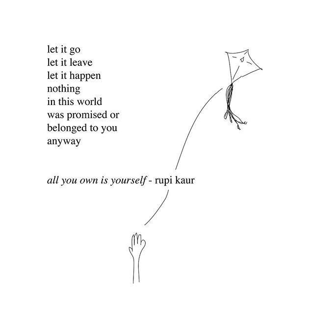 13 Poems From Milk And Honey Every Young Woman Needs To Read Rupi Kaur Quotes Be Yourself Quotes Words