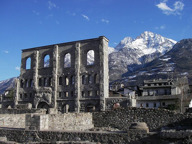 Forte de Bard, Teatro Romano, Aosta
