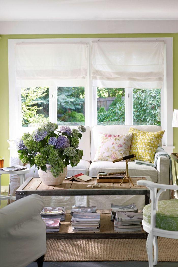 ▷ 1001 + Ideen Für Moderne Wohnzimmer Landhausstil Einrichtung | Wohnzimmer  Ideen U0026 Inspiration | Pinterest | Beach House Decor, Beach Cottage Style  And ...