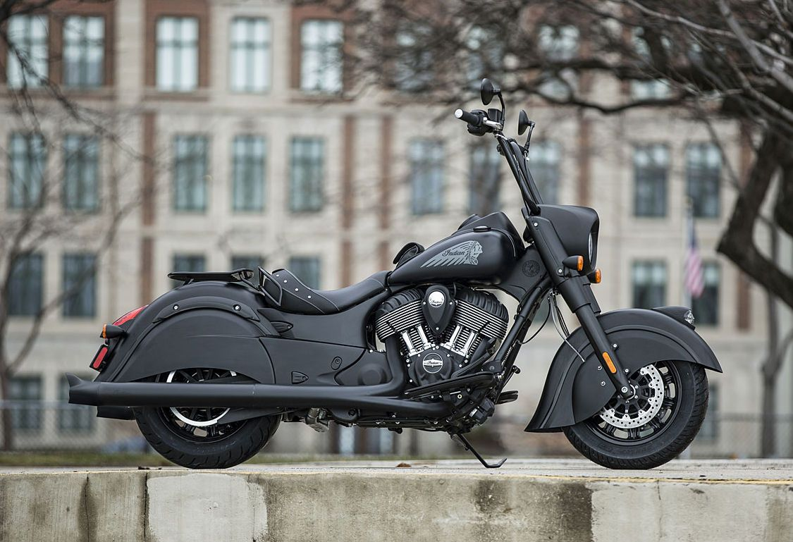 Meet indian motorcycles first model of 2016 indian chief dark - Indian Motorcycles Has Introduced Its First 2016 Model The Matte Black Indian Chief Dark Horse