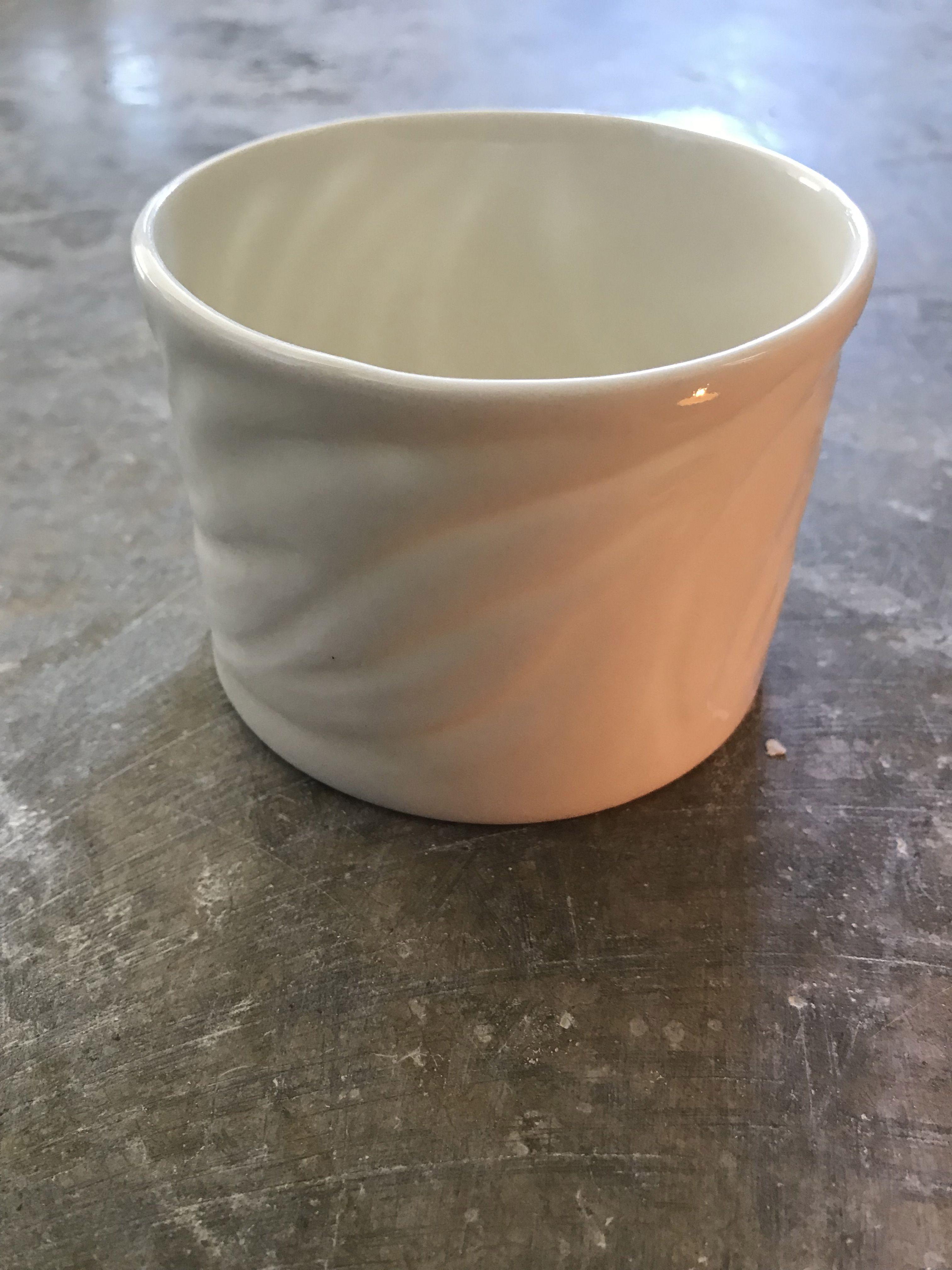 Carved Porcelain Bowl Silkwayceramics Handmade Tableware