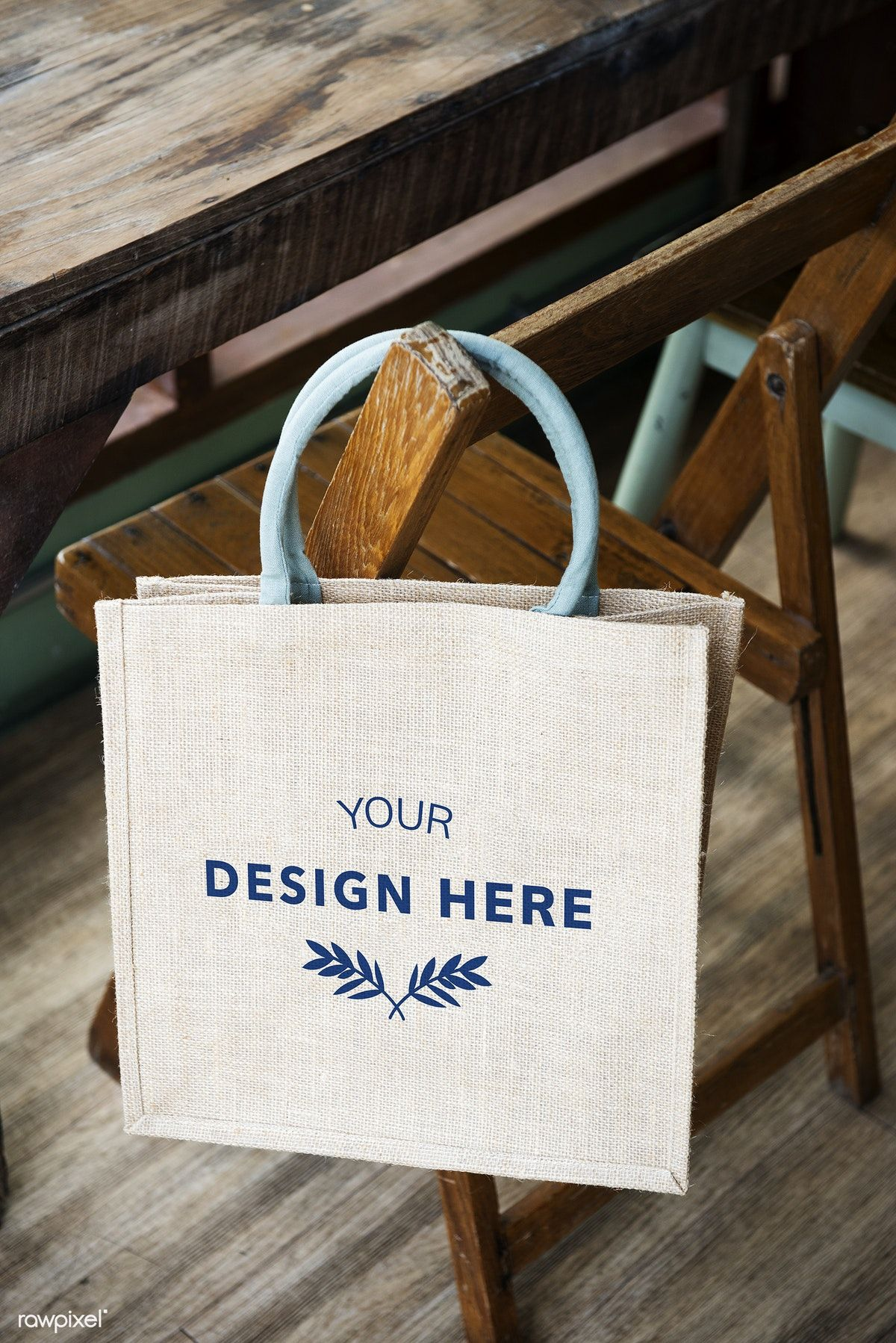 Download Download Premium Psd Of Design Space On Blank Tote Bag 295551