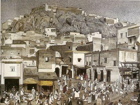 J.MAJORELLE-Moulay Idriss.Le souk-1.jpg