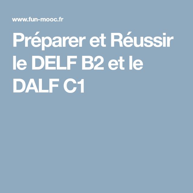 Préparer et Réussir le DELF B2 et le DALF C1 | Idiomas ...