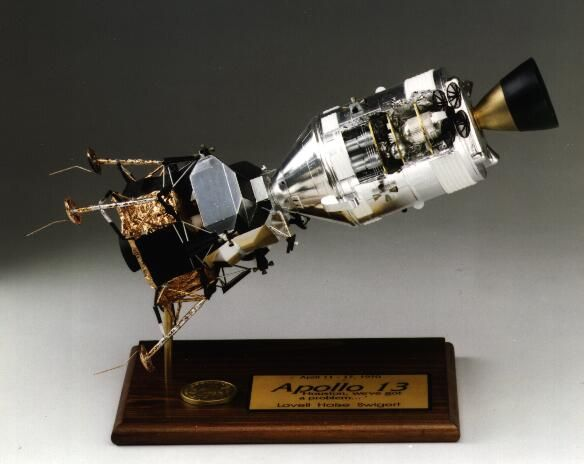 Spacecraft Model | Apollo 13 | Scifi and Space Models | Pinterest | Apollo 13, Spacecraft and Models