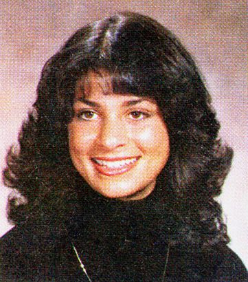 Paula Abdul, Van Nuys High School, Senior Year, 1981 | Paula abdul ...