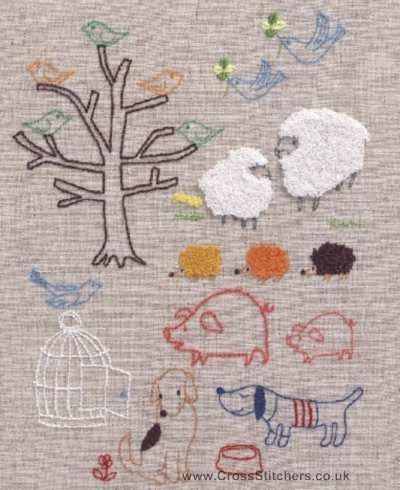 Free Hand Embroidery Transfers Animals Animal Designs Iron On