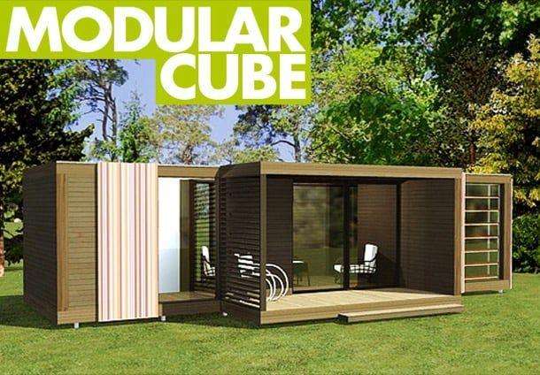 Modular cube caseta modular para el jard n la fabricante - Cube casas prefabricadas ...