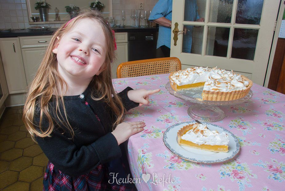 Citroen meringue taart - KeukenLiefde