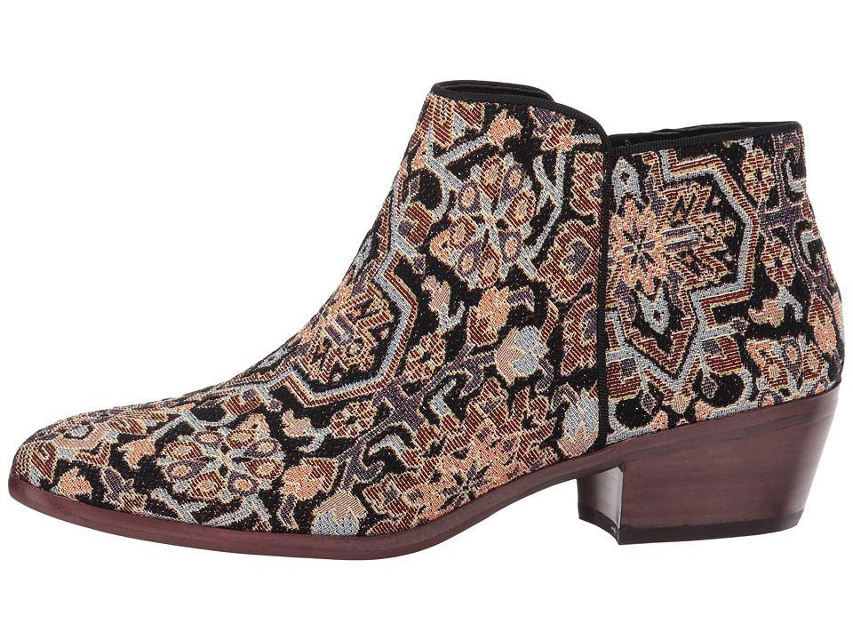 979c186b5 Sam Edelman Petty Women s Shoes Black Faraj Tapestry Fabric ...