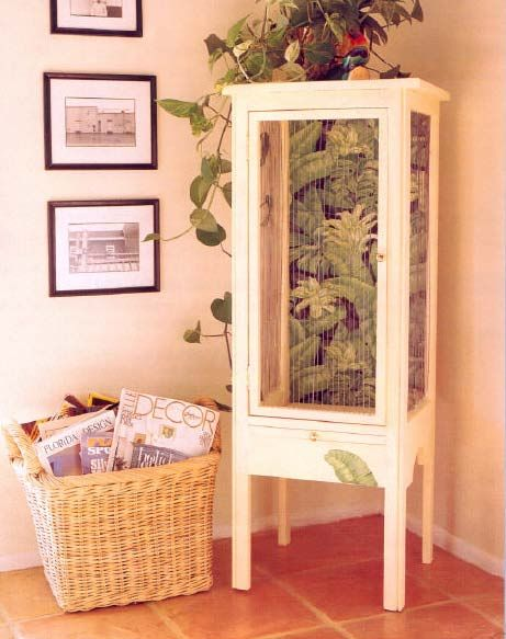 bird cage furniture wood working plans for download | Bird