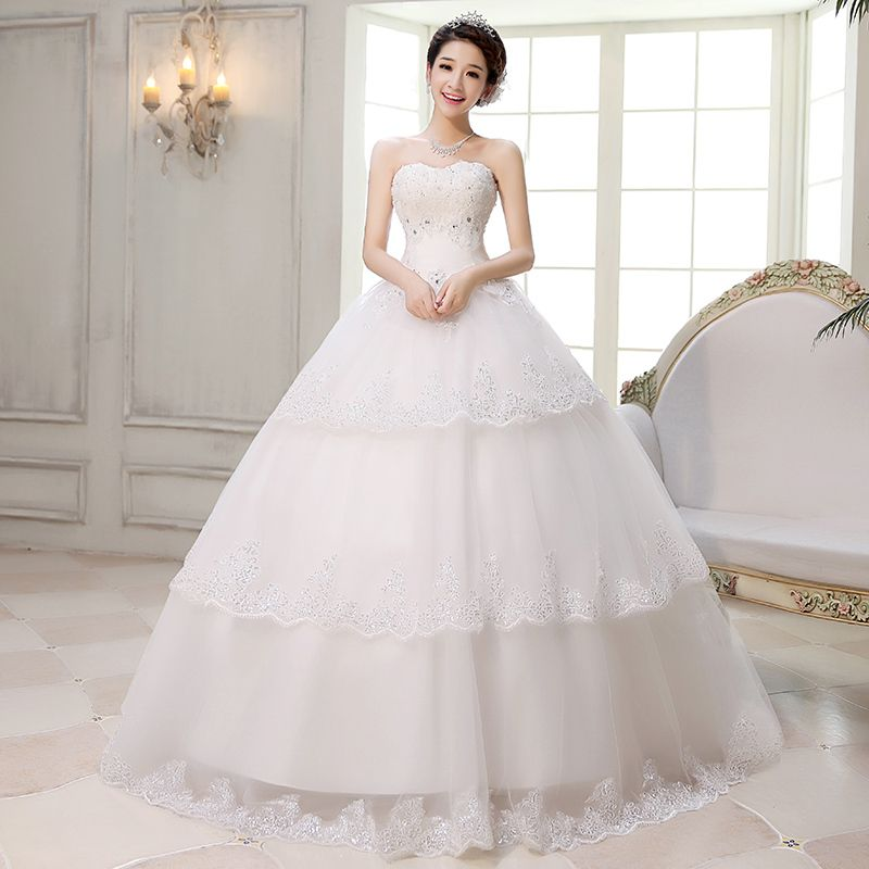 The Perfect Wedding Gown | Korean-version-of-the-new-Slim-bridal ...