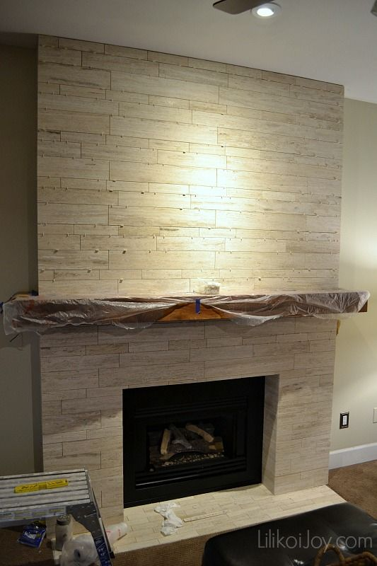 Family Room Fireplace Makeover: Before | DIY Projects to Try ...