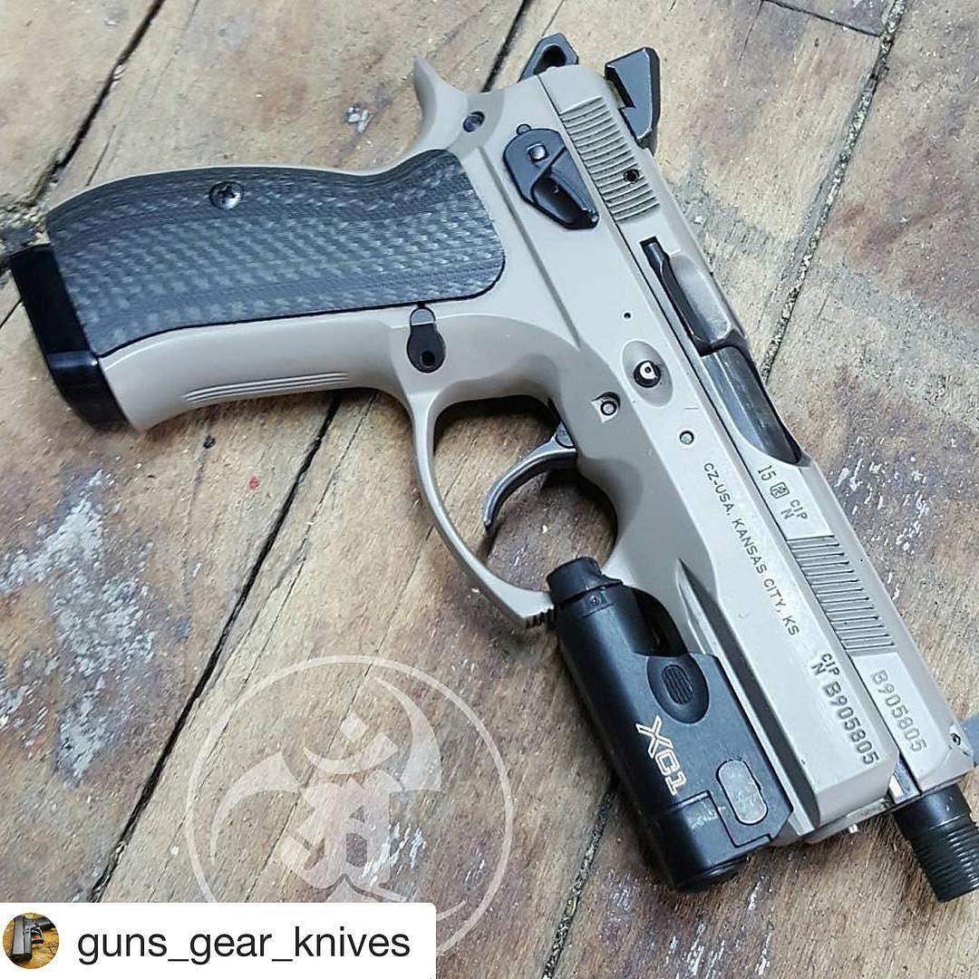 #Repost @guns_gear_knives with @repostapp Repost from @alexandryandesign using @RepostRegramApp - @czusafirearms Urban P01 @vzgrips CF @cgw_cajunized kit @henning_group base pad XC1 #alexandryandesign Alexandryandesign.com