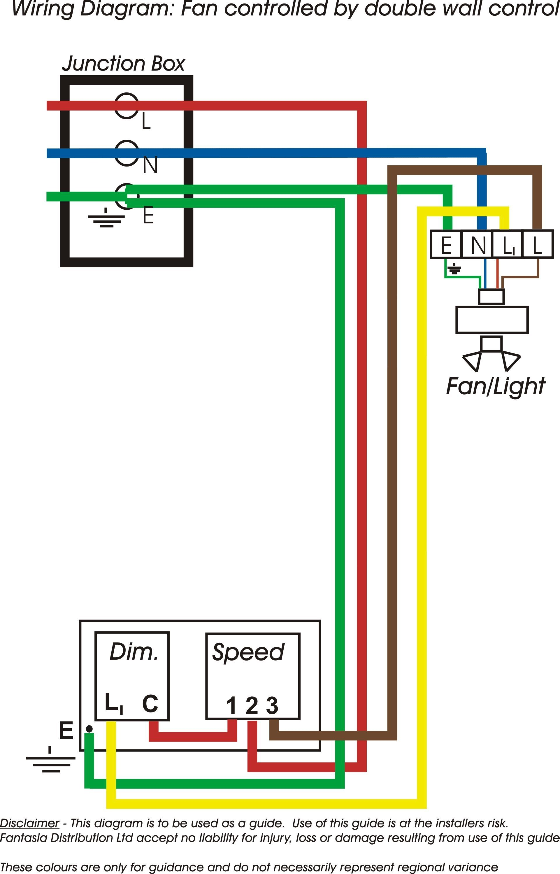 Double Switch For Ceiling Fan And Light