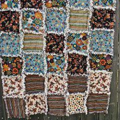 Accuquilt - Rag Quilt (jumapili) Tags: quilt sewing flannel ... : accuquilt rag quilt - Adamdwight.com