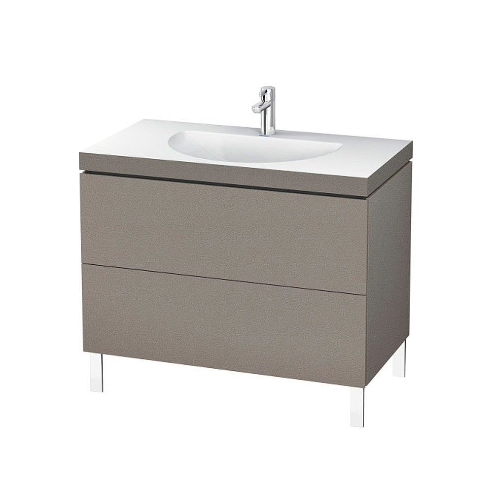 Duravit L Cube C Bonded Freestanding 2 Drawer Vanity Unit 1000mm Vanity Units Bathroom Design Luxury Freestanding Vanity Unit