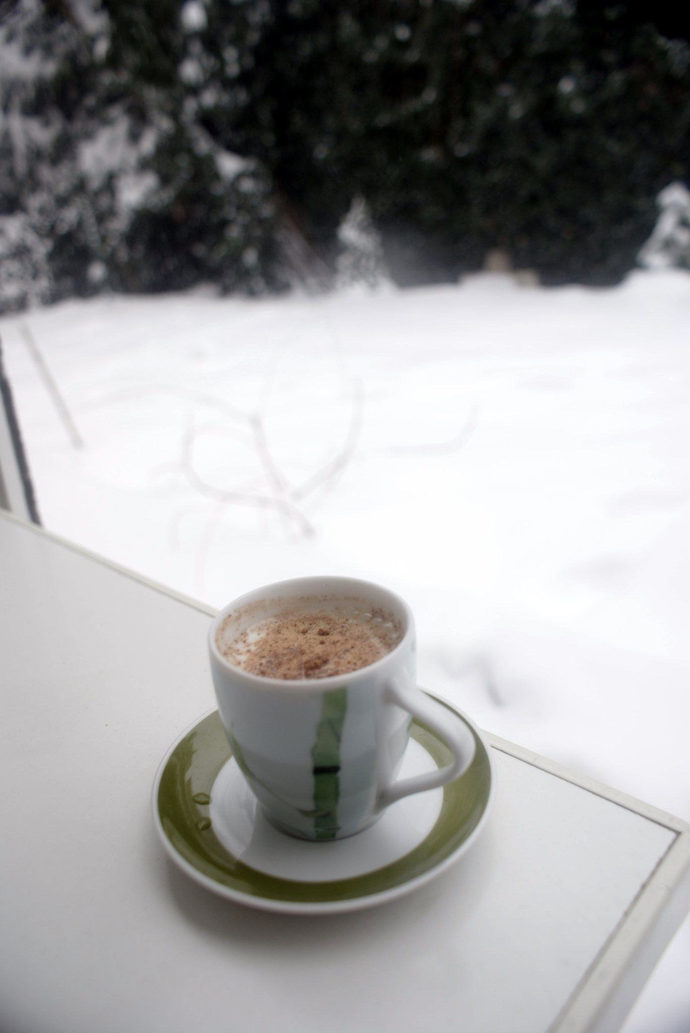 A winter tradition sahlep drink made from orchid roots and milk
