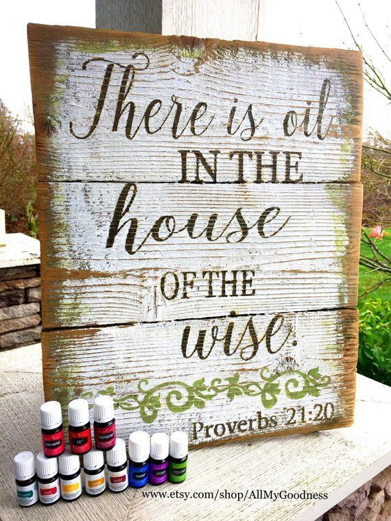 There Is Oil In The House Of The Wise Proverbs 2120 Products
