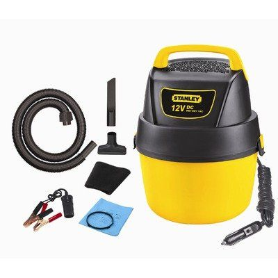 Stanley Sl18125dc Portable Poly Series 1 Gallon 12 Volt Dc Wet Dry Vacuum Cleaner Shop Wet Dry Vac Wet Dry Vacuum Wet Dry Vacuum Cleaner Car Vacuum