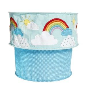 Light and rainbows pictures and quotes | ... Children's Baby Bedroom Nursery Rainbow Cloud Two Tier Light Lampshade