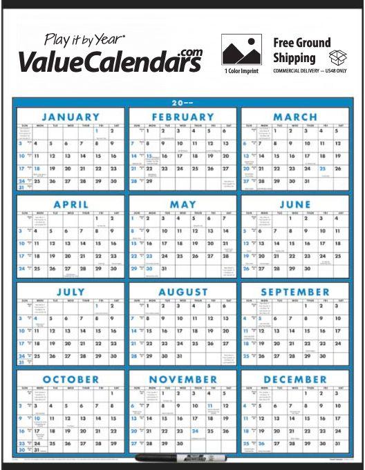 2017 Span-A-Year (Laminated) Calendar 22\
