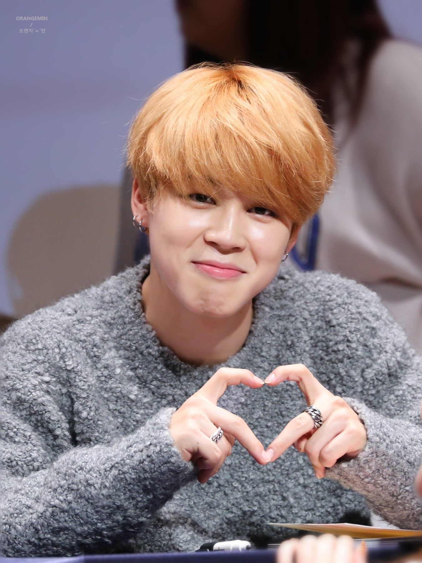 BTS JM | His hair, his cute nose, his adorable smile, his short tiny cute fingers, and that adorable heart. :3 I am satisfied.