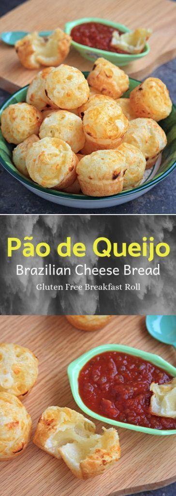 Pão de Queijo | Brazilian Cheese Bread
