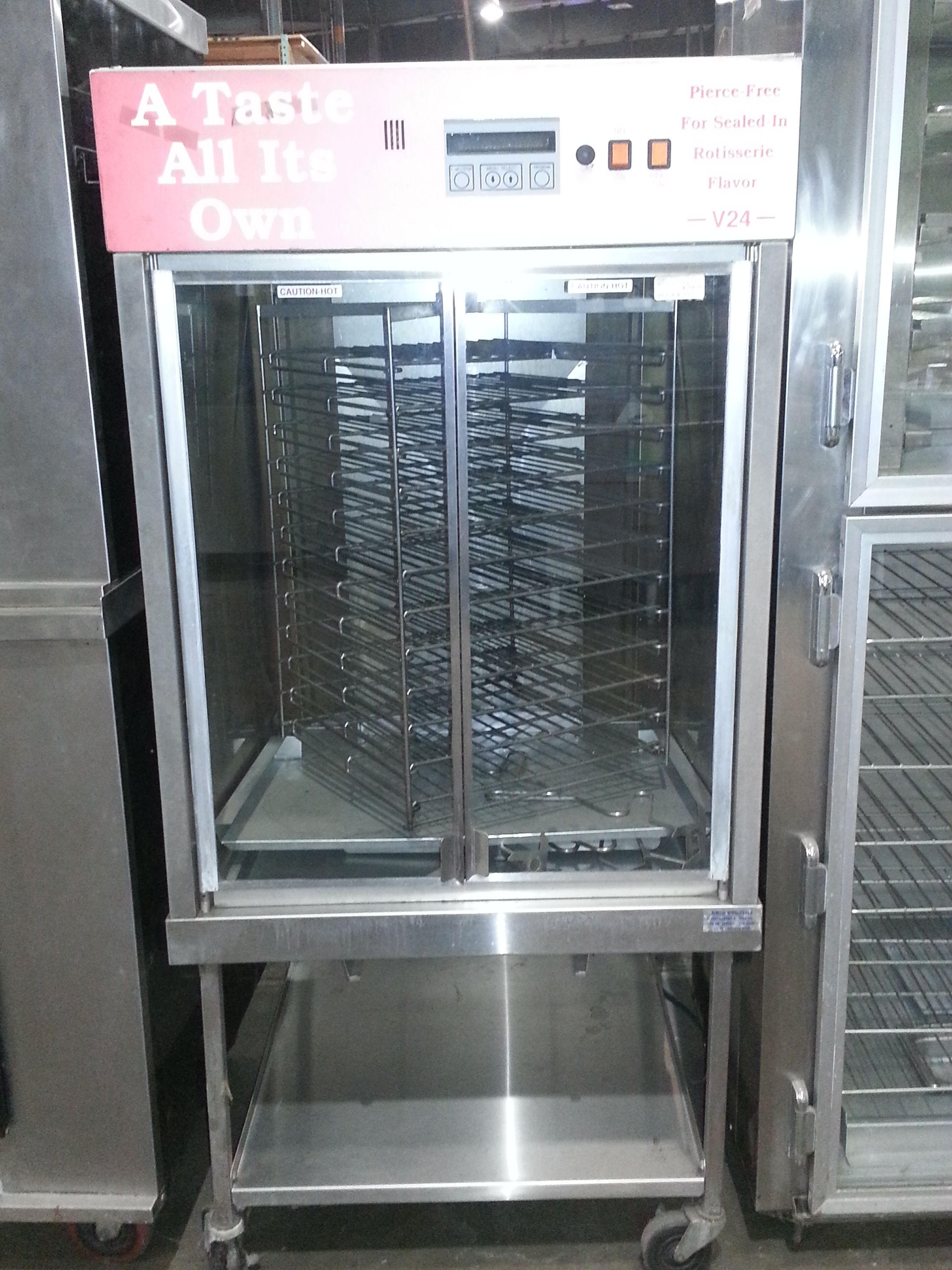 Used Broaster Vertical Rotisserie Usedovens 0311 Contact Us For