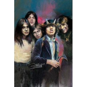 AC/DC Group Domestic Poster