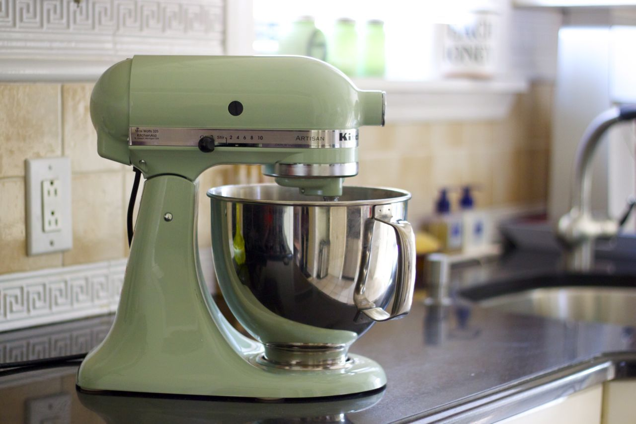 Gentil Photo Pistachio Kitchenaid Mixer | ... KitchenAid Stand Mixer (pistachio  Seemed Like The