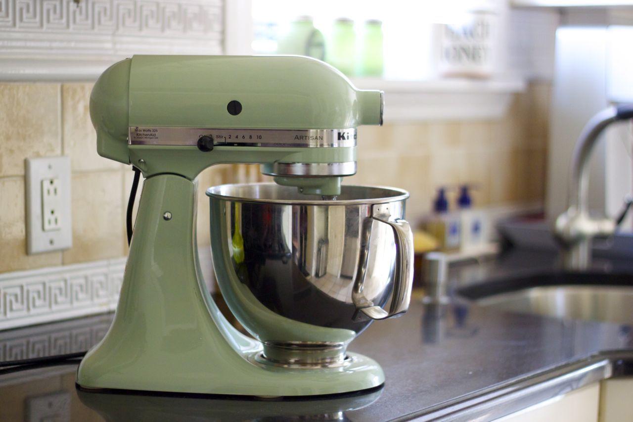 Genial Photo Pistachio Kitchenaid Mixer | ... KitchenAid Stand Mixer (pistachio  Seemed Like The