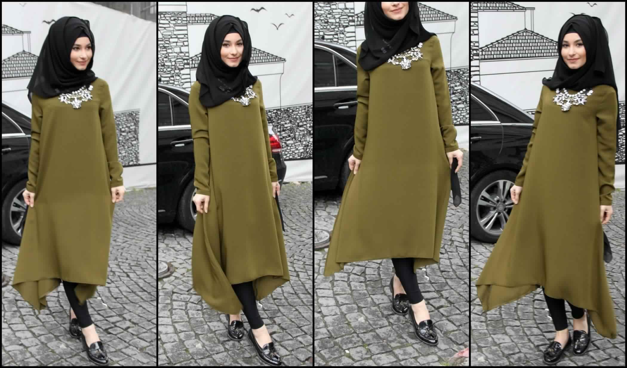 hijab tunic | Hijab chic, Fashion, Outfits