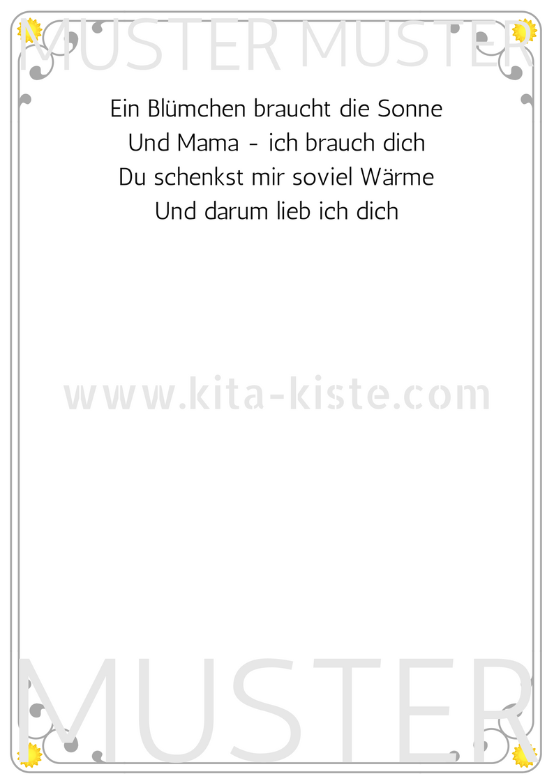Photo of 3 Sprüche zum #muttertag – mit einem Handabdruck ein schönes