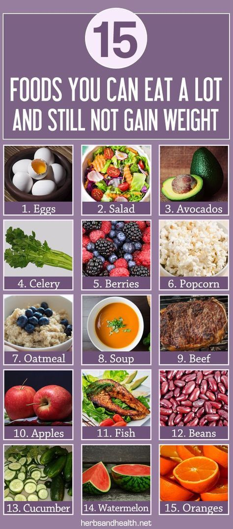 15 Foods You Can Eat A Lot Of And Still Not Gain Weight   Diet and  nutrition, Nutrition tips, Healthy