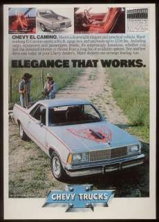 1981 1982 1983 Chevrolet El Camino Royal Knight Decals Stripes
