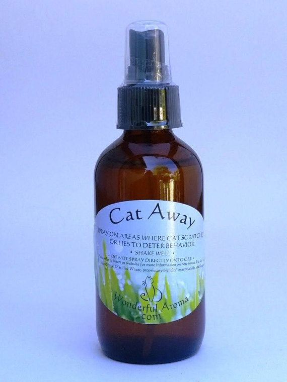 Cat Away Spray This Aromatherapy Repellent Helps Protect Furniture By Deterring Your Pet From Scratching The