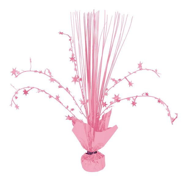 Check Out Pink Spray Centerpiece