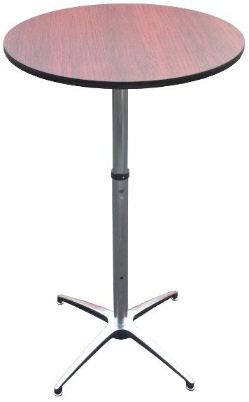Portable Round Adjustable Height Highboy Cocktail Table Highboy Table Table Cocktail Tables