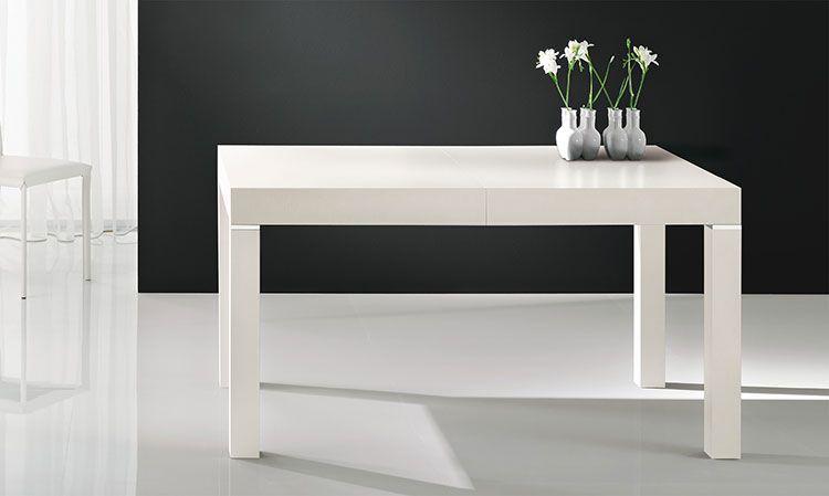 Tavoli Quadrati Moderni : Tavoli quadrati allungabili: 20 modelli dal design moderno tavoli