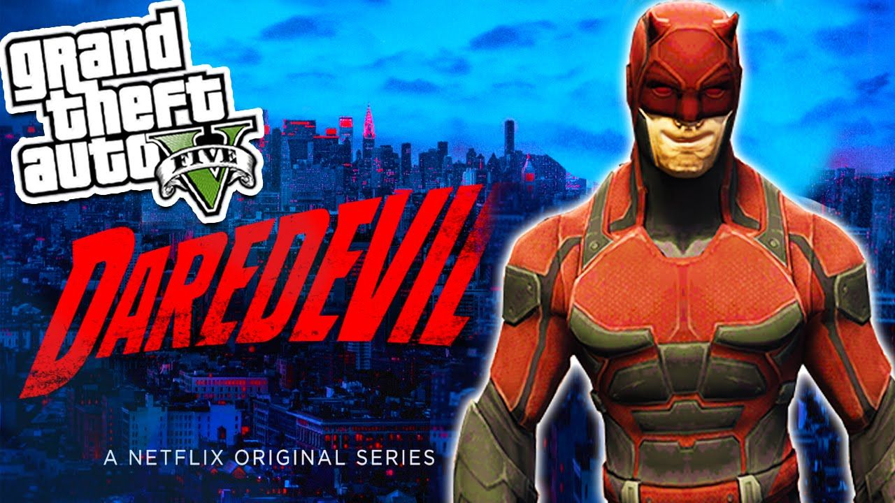 GTA 5 Mods: NETFLIX DAREDEVIL MOD! GTA 5 Mods Showcase (GTA