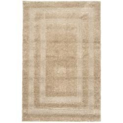 Safavieh Casual Ultimate Beige Shag Rug (3'3 x 5'3)
