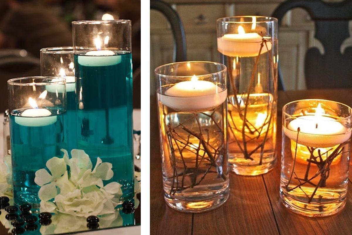 Ideas fáciles para decorar tu fiesta de fin de año con velas