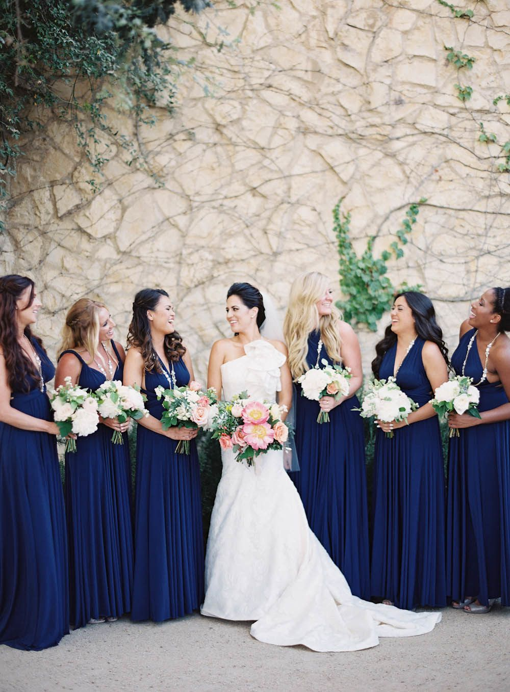 Photography: Jen Huang Photography - jenhuangphotography.com  Read More: http://www.stylemepretty.com/2014/09/08/modern-tuscan-inspired-wedding-with-pops-of-color/