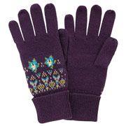Woodland Rose Gloves