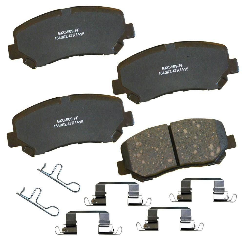 Fits:Kia Sportage 2012-2016 Front /& Rear Sangsin HI-Q Premium Ceramic Brake Pads