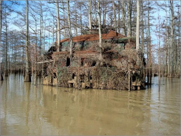 Man Cave Hunting Blind : Man cave duck blind ohio game fishing community