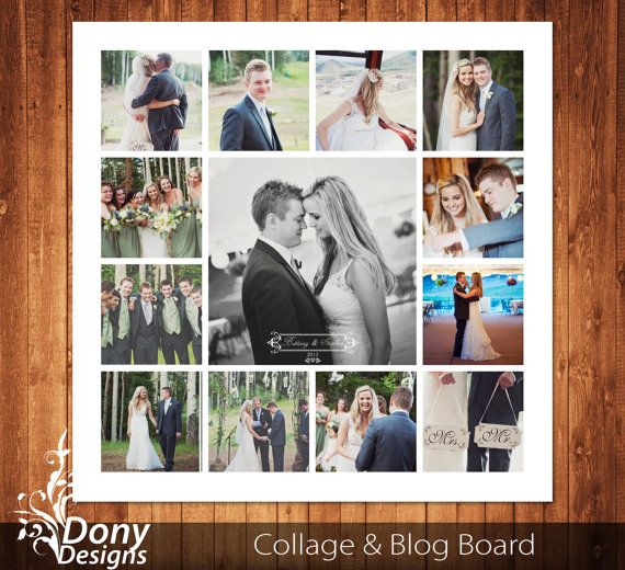 Buy 1 get 1 free wedding blog board collage template sized 20x20 buy 1 get 1 free wedding blog board collage template sized 20x20 inches photoshop template instant download blog board code 245 maxwellsz