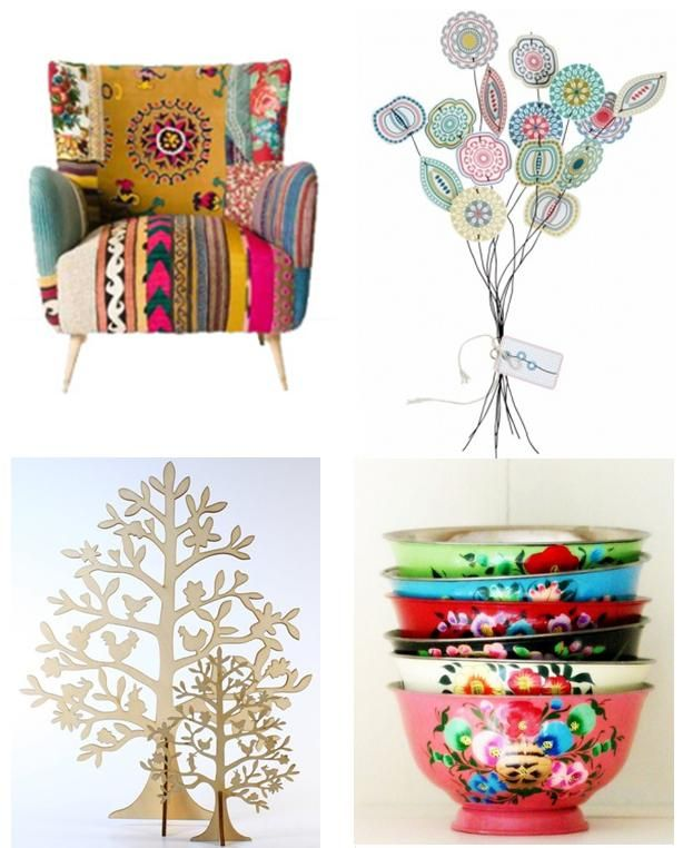 Bohemian Decorating Style Pictures